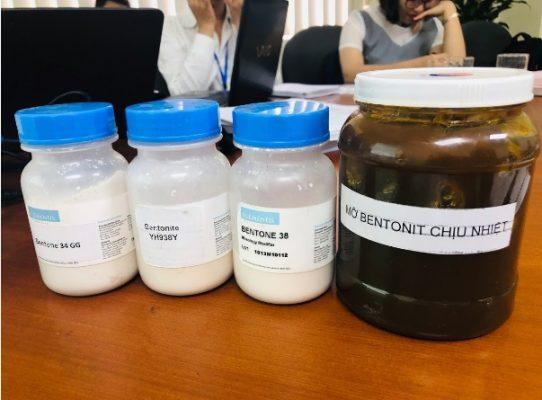 chất làm đặc Bentonit biến tính